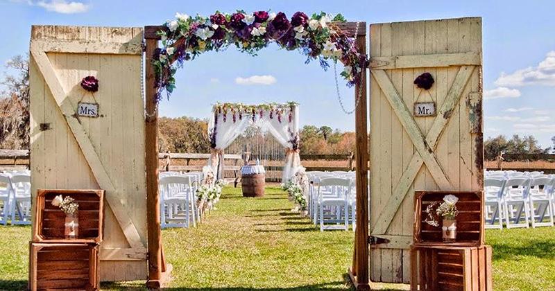10 consejos para decorar una boda en el campo