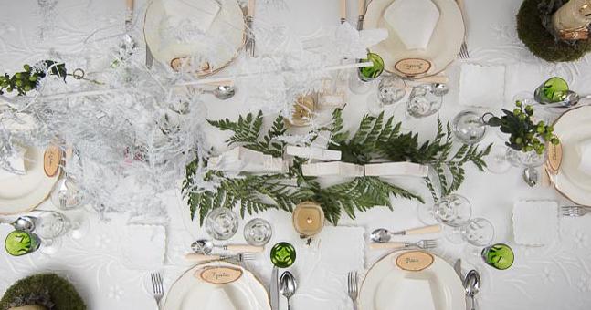 5 tips para decorar una mesa en Navidad