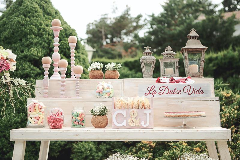 mesa dulce detalle