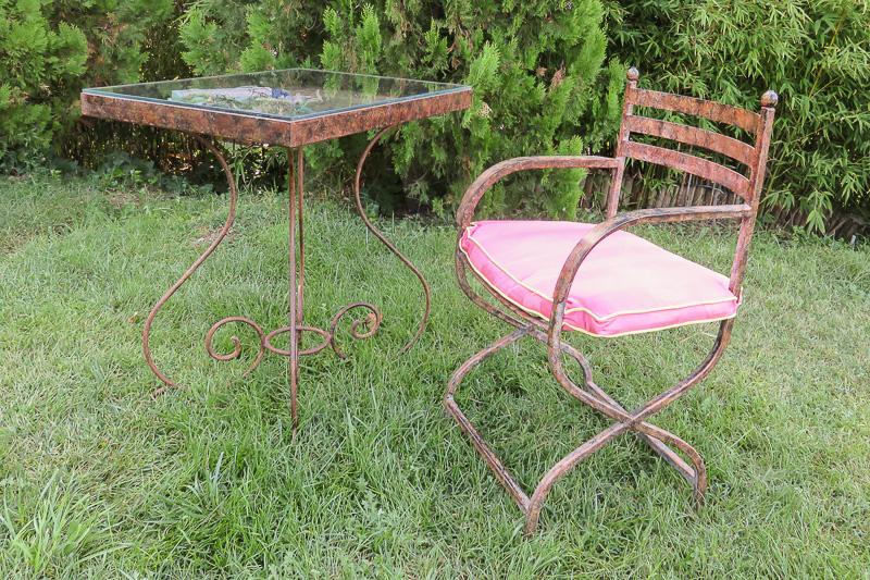 mesa y silla eventos