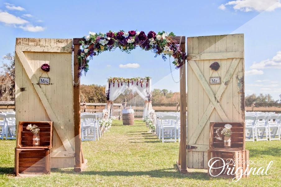 10 consejos para decorar una boda en el campo for Bodas en el campo decoracion