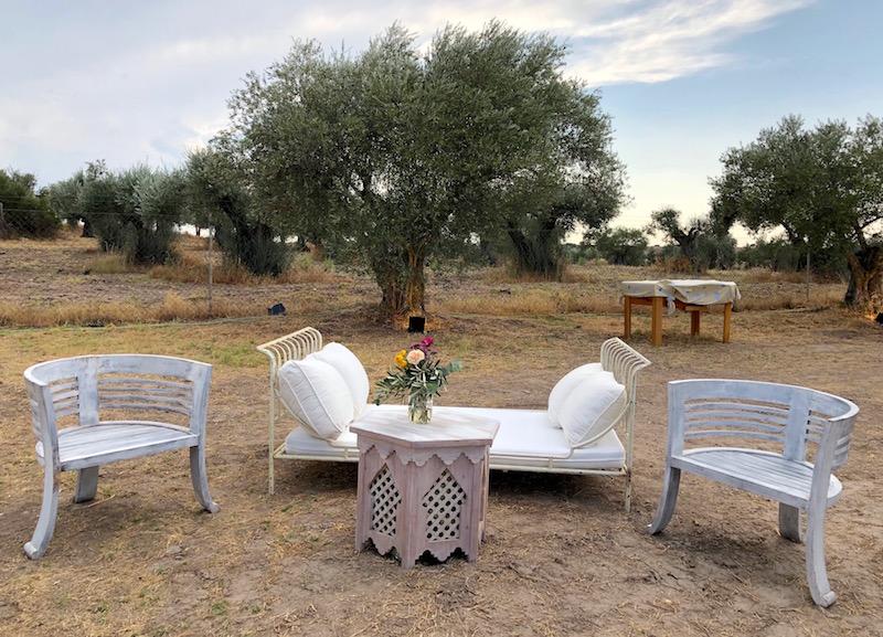 asientos de jardín