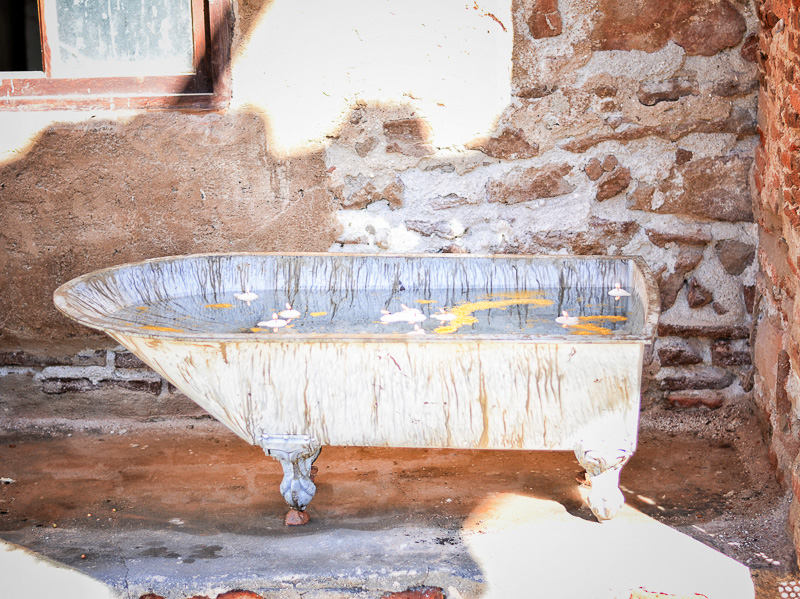 bañera retro