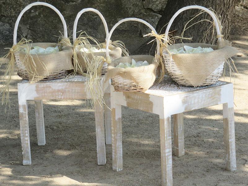 Tu Decoración Original Decoración boda al aire libre
