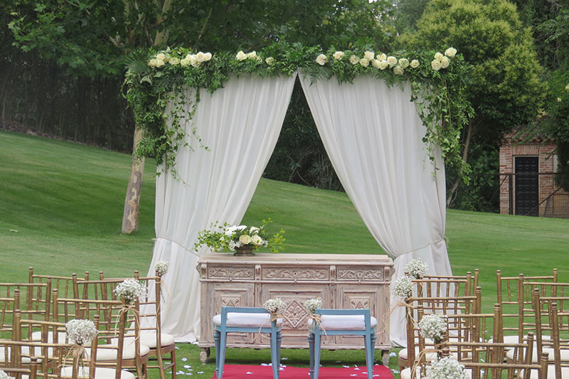 boda civil decoración - tu decoración original