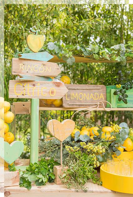 Corner de citricos