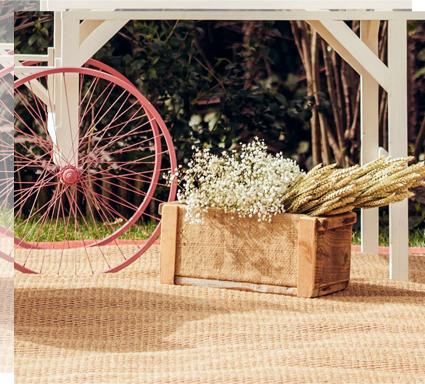 Caja de madera para bodegones de bienvenida