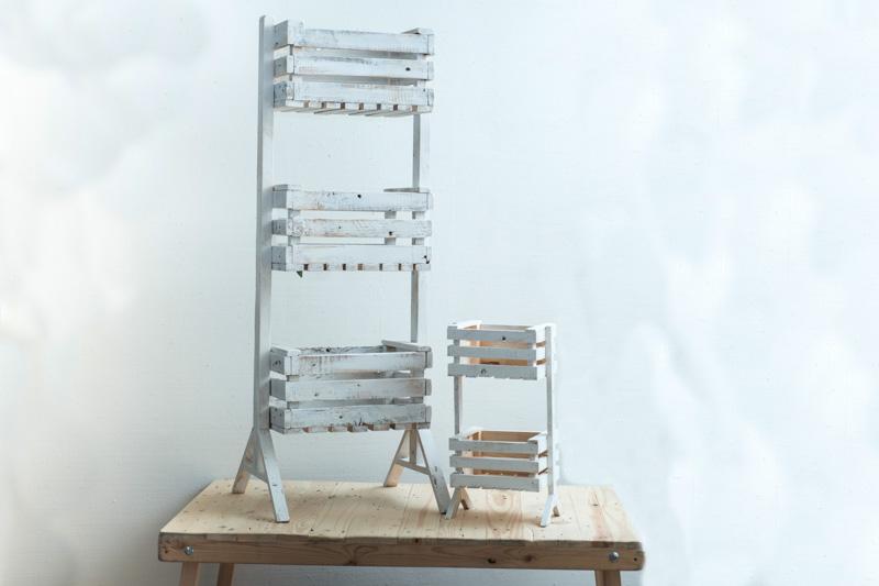 Tu Decoración Original Cajas artesanales en alturas