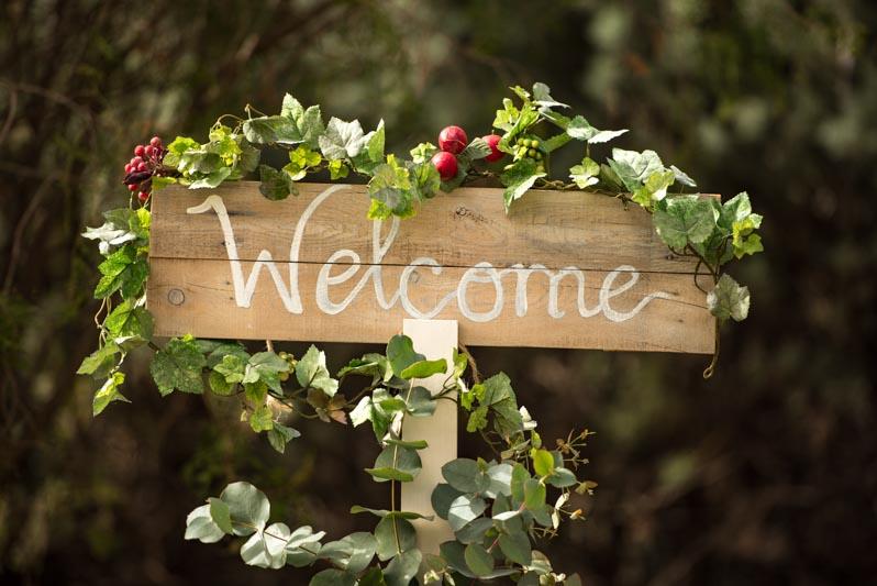 tu decoración original rincón de bienvenida