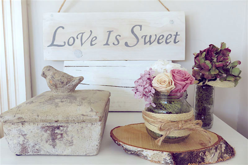 cartera de madera dulce