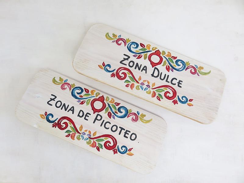 Cartel estilo mejicano