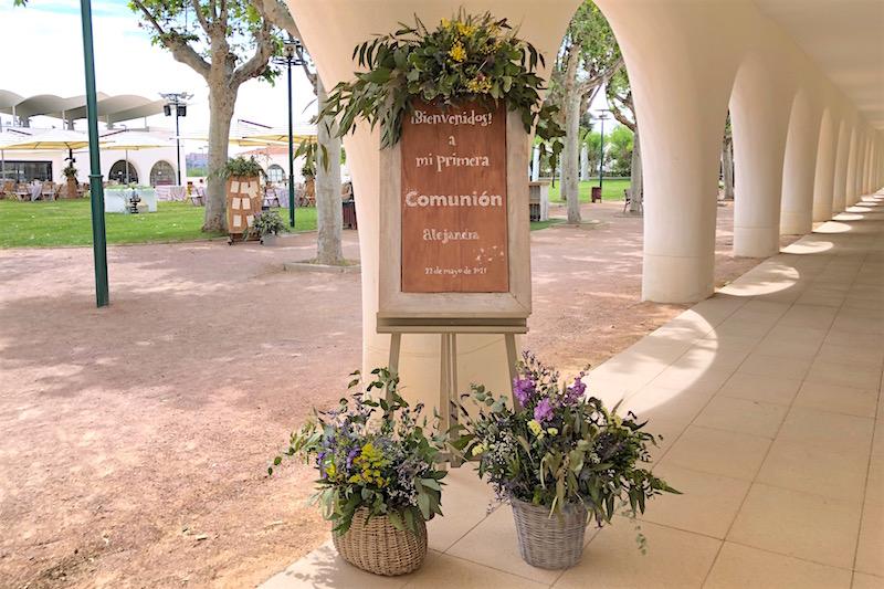 cartel comunión