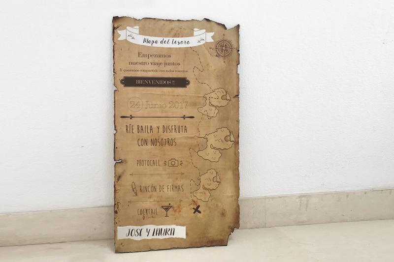 Cartel pergamino