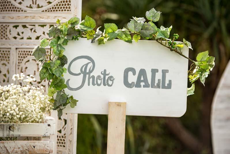 Photocall para boda