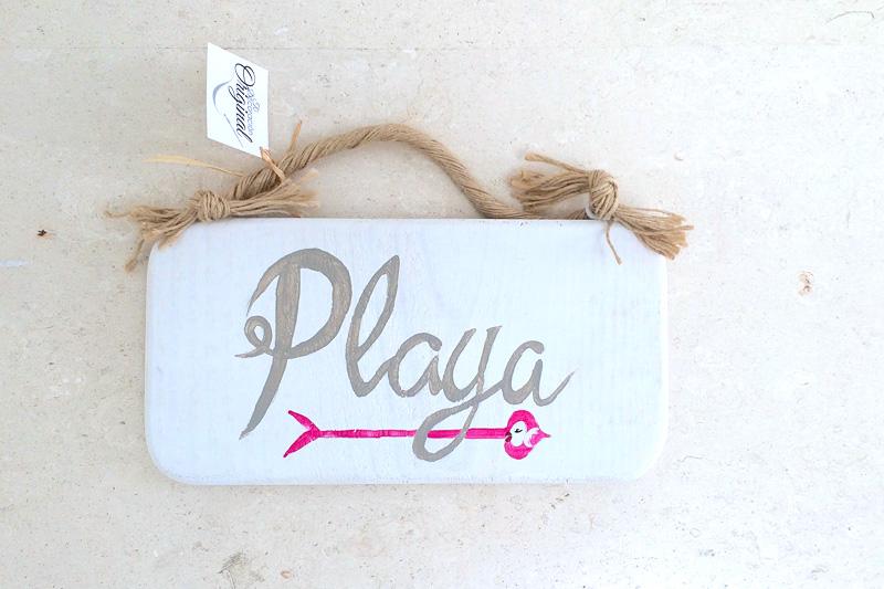 cartel playa
