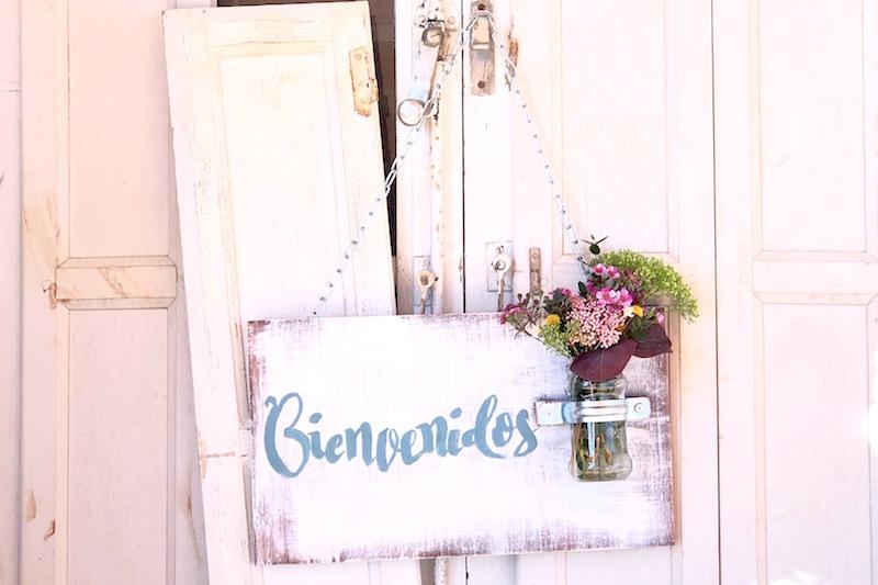 carteles con flores