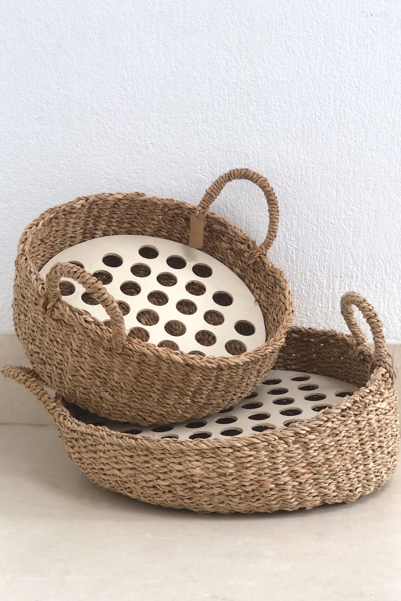 cestos para conos