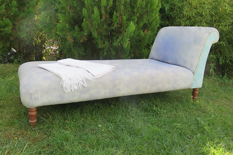 chaiselongue de tela