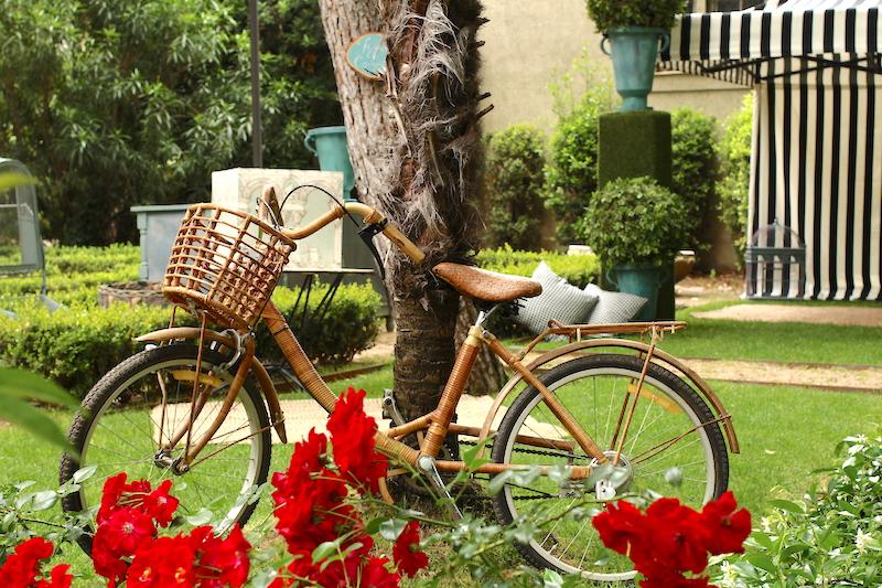como decorar una bicicleta vintage en tu evento