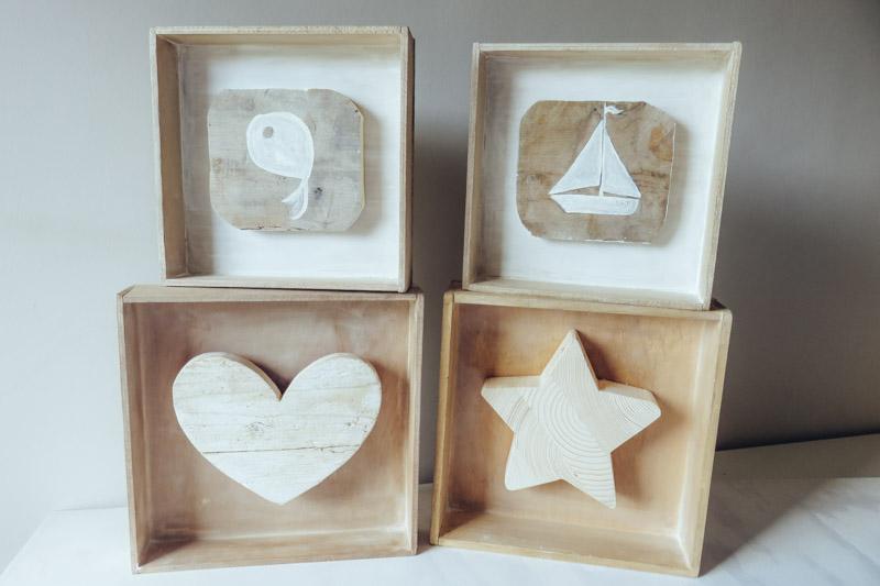 Cuadros originales tu decoraci n original - Cuadros vintage madera ...