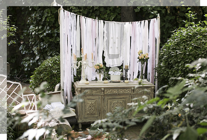 Tendencias decoración bodas 2017