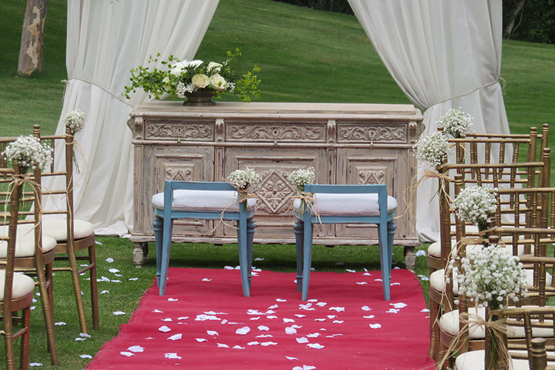 Tu Decoración Original decoración boda civil