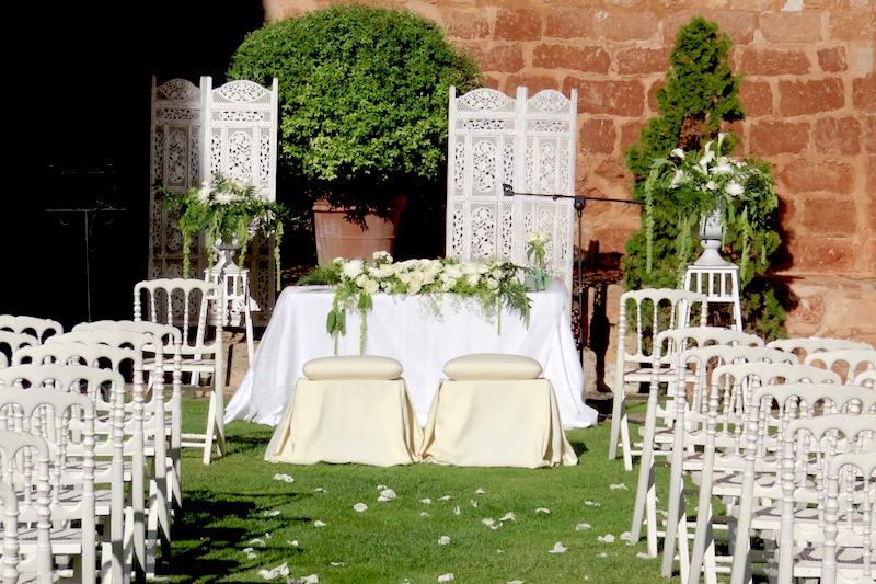 decoración ceremonia civil