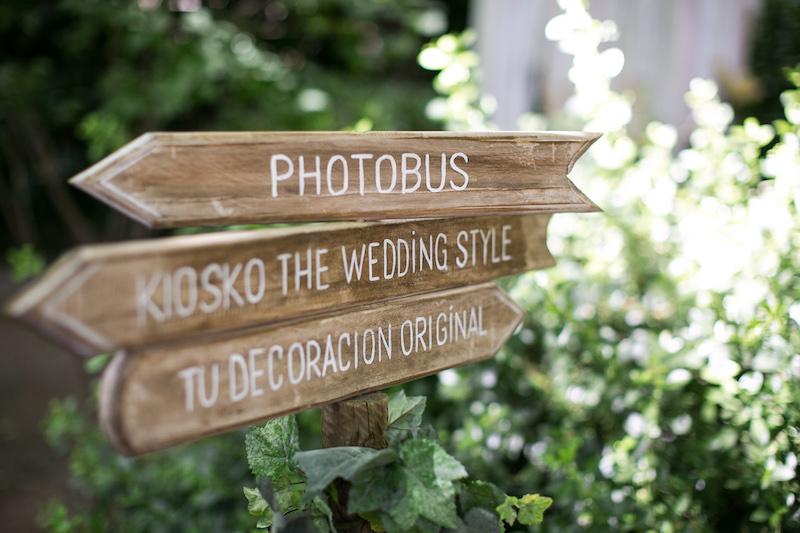 decoración de stands evento wedding style magazine