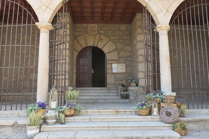 Decoración rústica para Iglesia