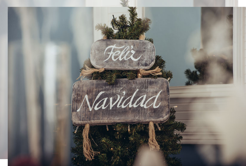 Cinco tips para decorar una mesa en Navidad