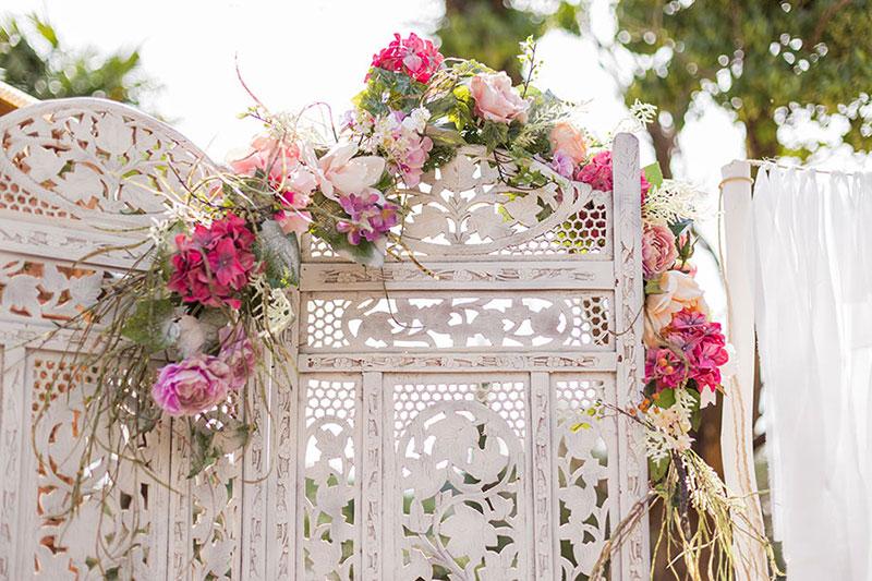 Tu decoración original Rincón de bienvenida para boda
