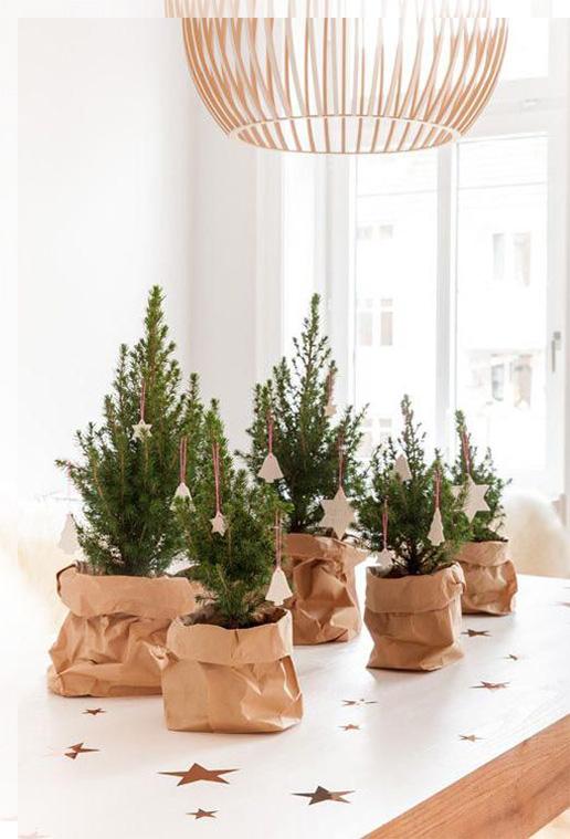 Ideas originales para tus mesas de navidad tu decoraci n - Mesas de navidad originales ...