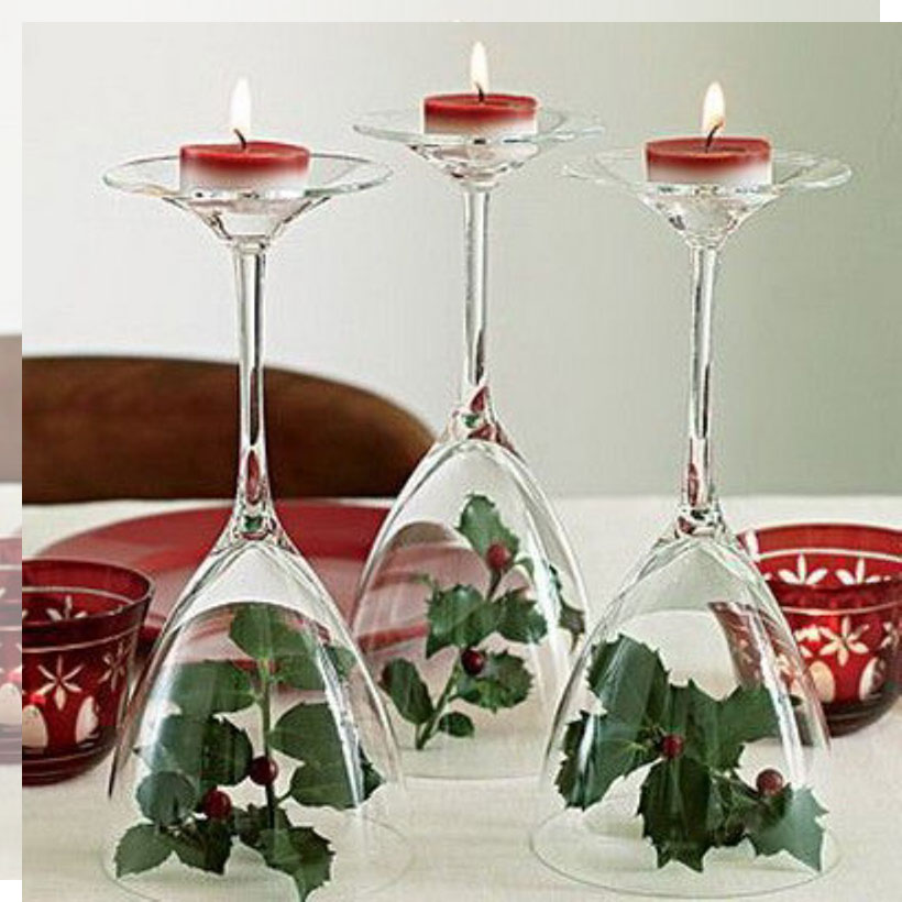 Tu Decoración Original Ideas originales para tus mesas de navidad