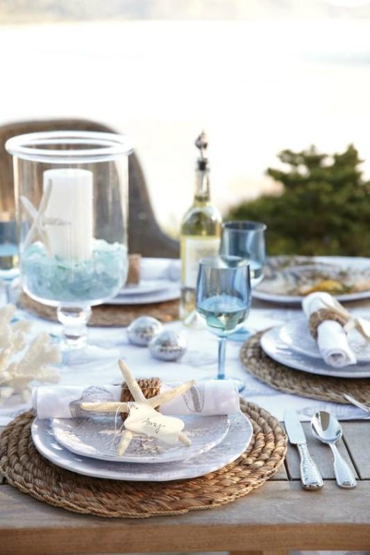 Ideas para decorar mesas en verano