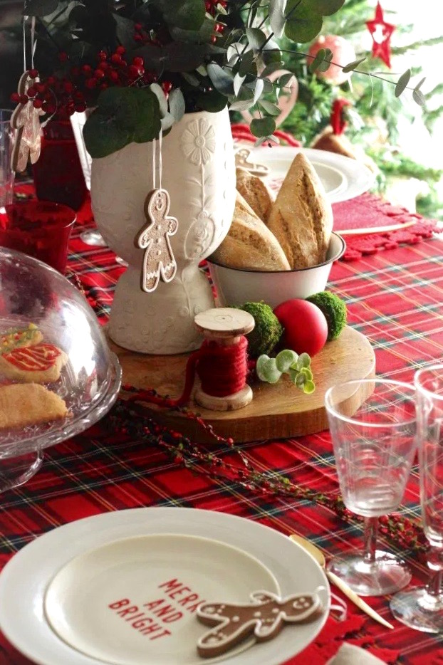 ideas para decorar mesas navideñas