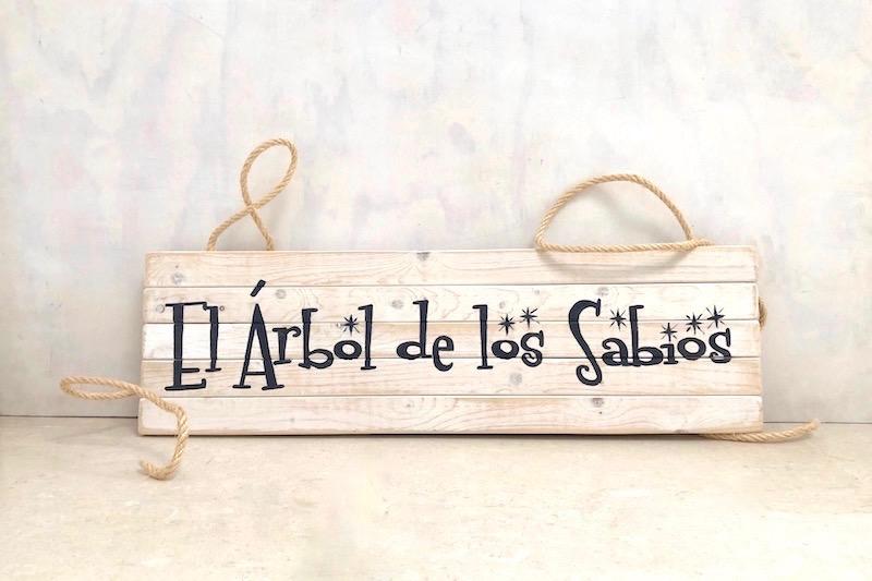 letreros de tablones