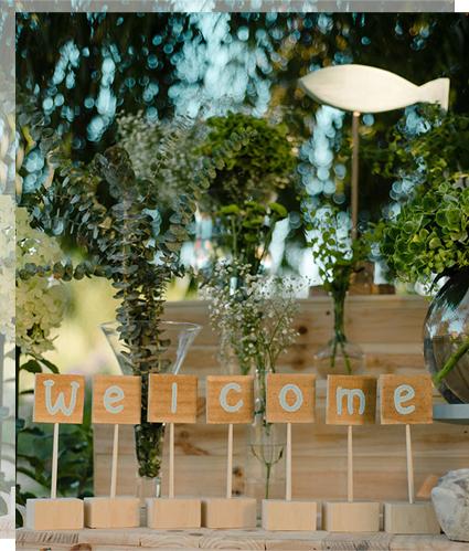 Cartel welcome