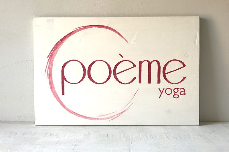 Tu Decoración Original Logotipo Poeme yoga