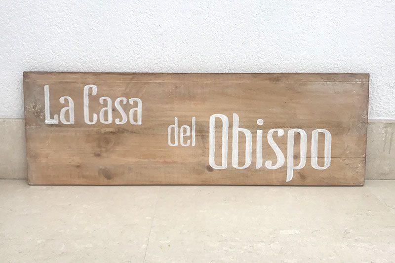 Logotipo La casa del Obispo