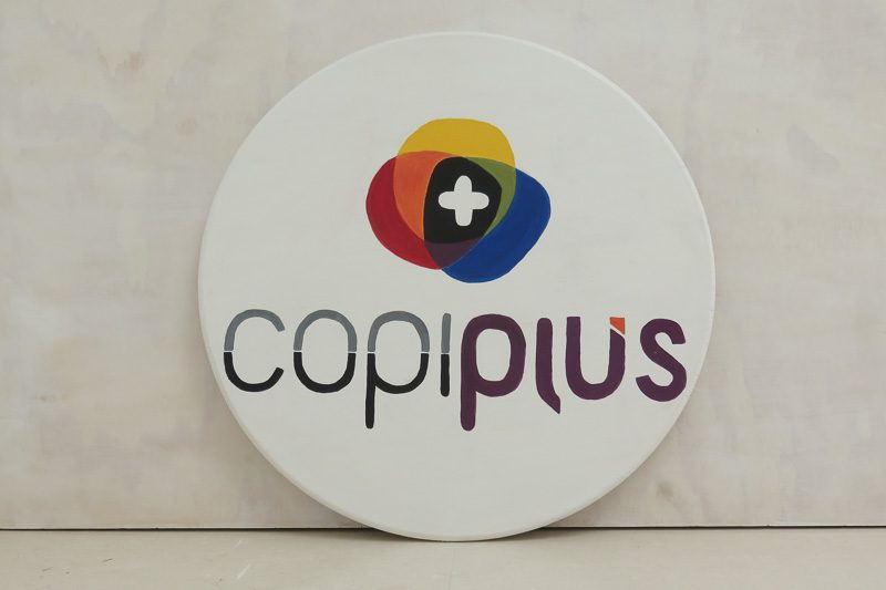Logotipo Copiplus Majadahonda