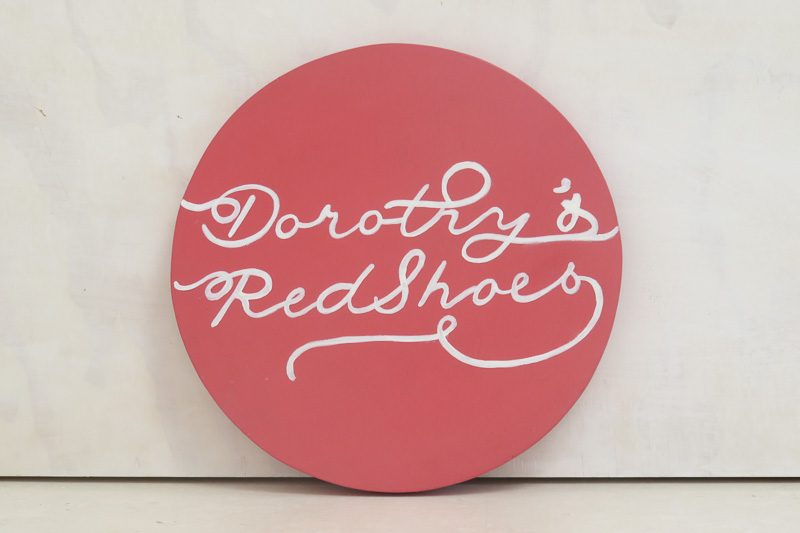 Logotipo Dorothy's Redshoes