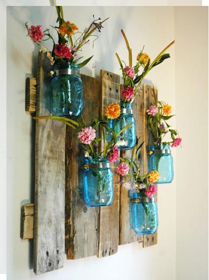 madera-flores-pared-tu-decoracion-original