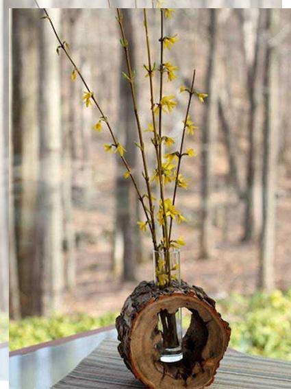 madera-flores-tronco-tu-decoracion-original