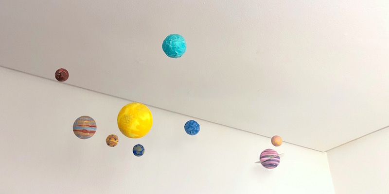manualidades para niños de planetas
