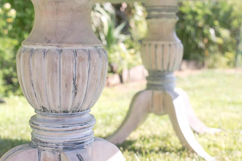 Mesa para bodas civiles detalle