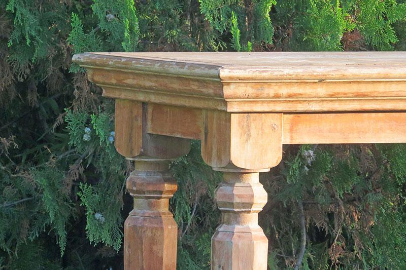 Tu Decoración Original mesa rústica altar