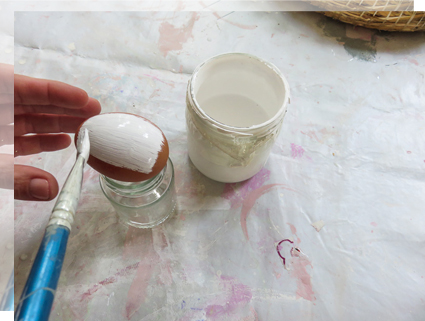 Preparar la pintura