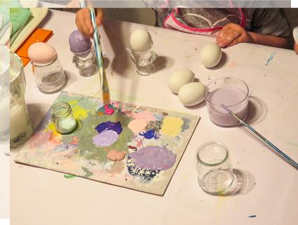Pintar huevos