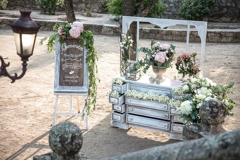 rincón bienvenida boda