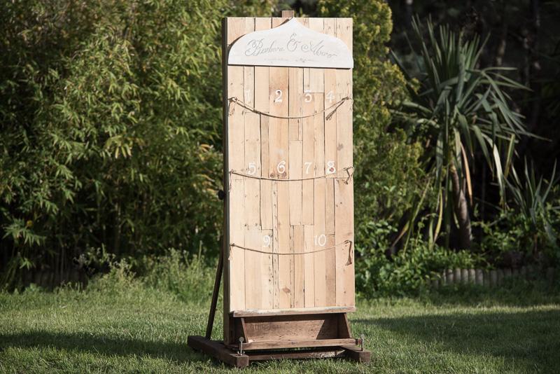 Seating plan madera
